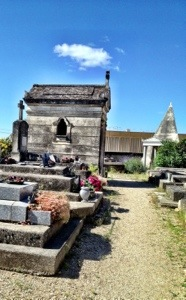 Cemetery in Remoulins France
