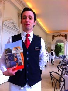 Waiter at The Orangery