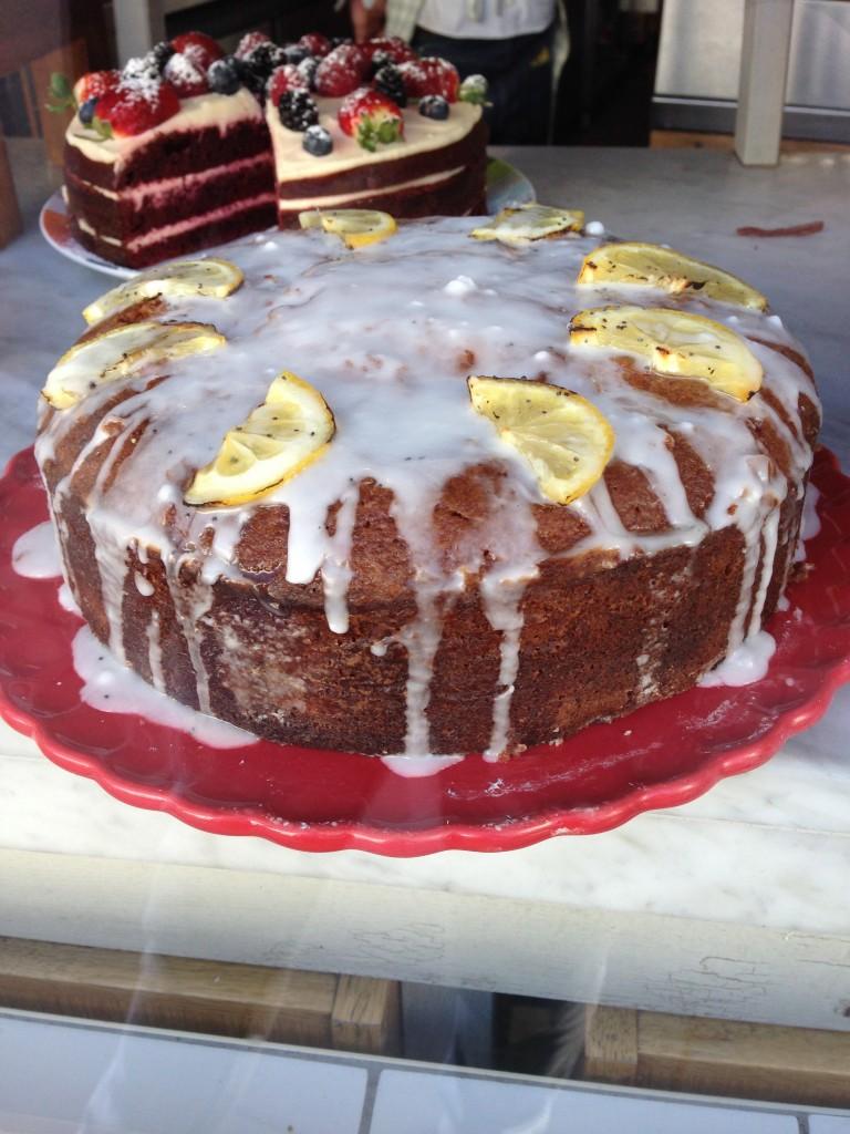 Zesty Lemon Drizzle Cake from Muriel's Kitchen
