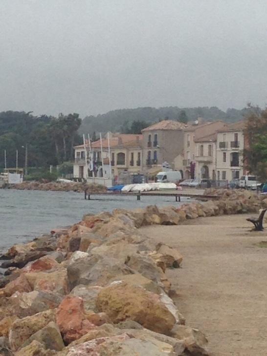 Mediterranean side of France
