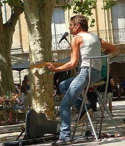Musicians in Uzes
