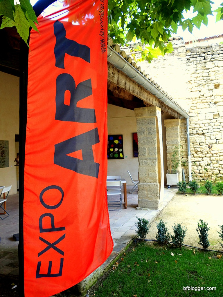 Courtyard of Galerie La Verriere