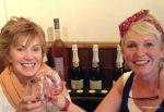Plat du Jour and wine at a favorite restaurant