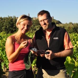 Amy and Mark Kling of La Gramière