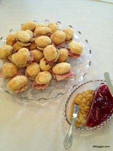 "Ham Biscuits for ""Southern"" Baby Shower, Douglasville, Georgia, USA"