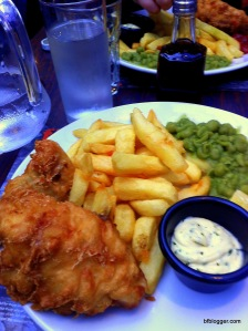 Fish and Chips, London, UK