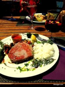 Tuna Steak in Collioure, France