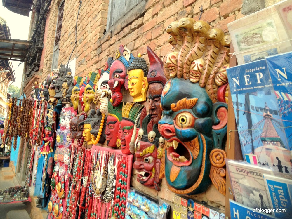 Shops at the Monkey Temple