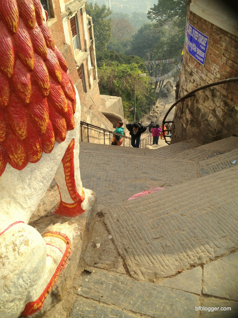 365 Steps to the Monkey Temple