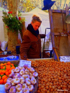 Chestnuts roasting at holiday markets