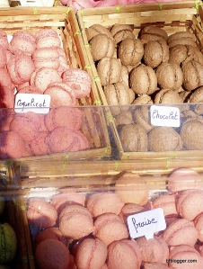 Macaroons from Christmas Market, Uzes