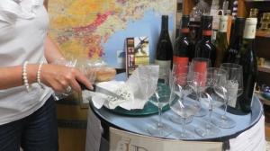 roquefort and wine tasting