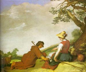 Abraham_Bloemaert_-_Shepherd_and_Sherpherdess_-_WGA02282