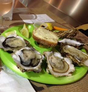 Oysters, French style