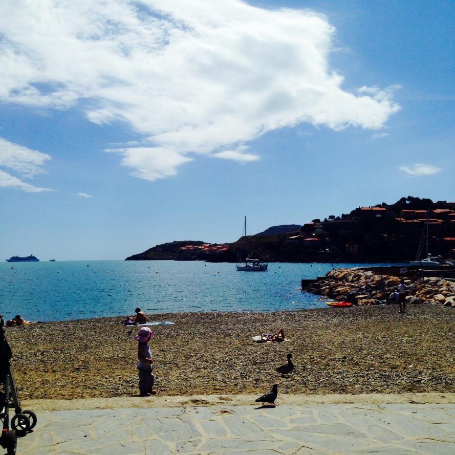 Beach at Collioure