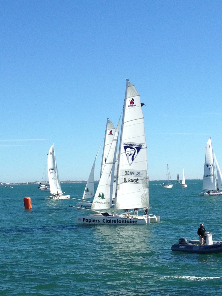 Sailing regatta at La Grande-Motte