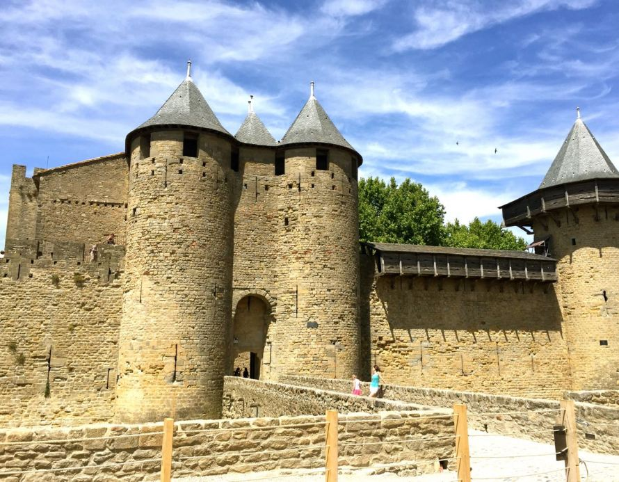 Entrance to Carcassonne