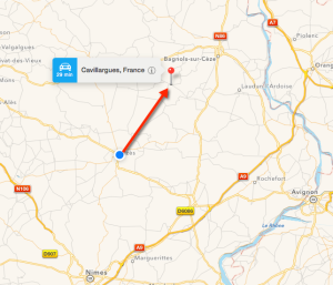 Uzes to Cavillargues