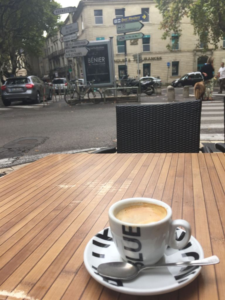Coffee in tiny cups