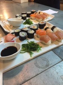 Sushi at the Cinema in Uzes