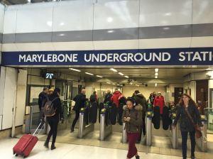 Marleybone Station, London