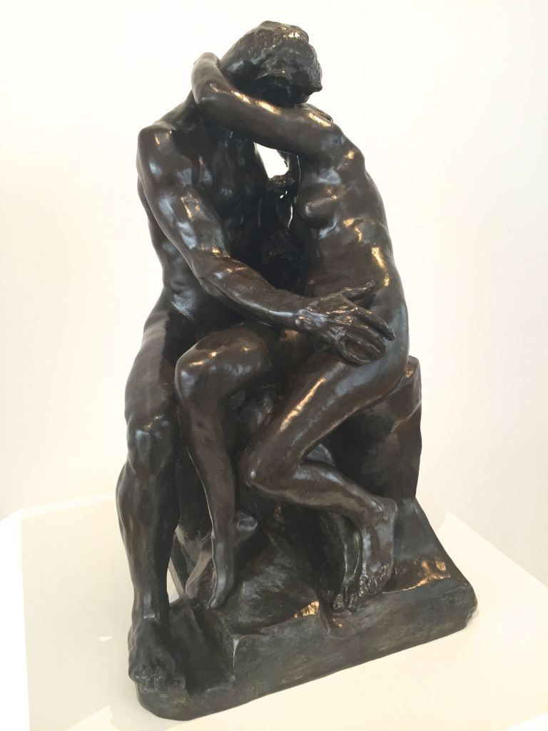 """""""The Kiss"""" by Rodin"""