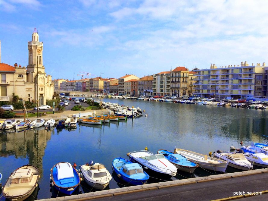 Canal view in Sete