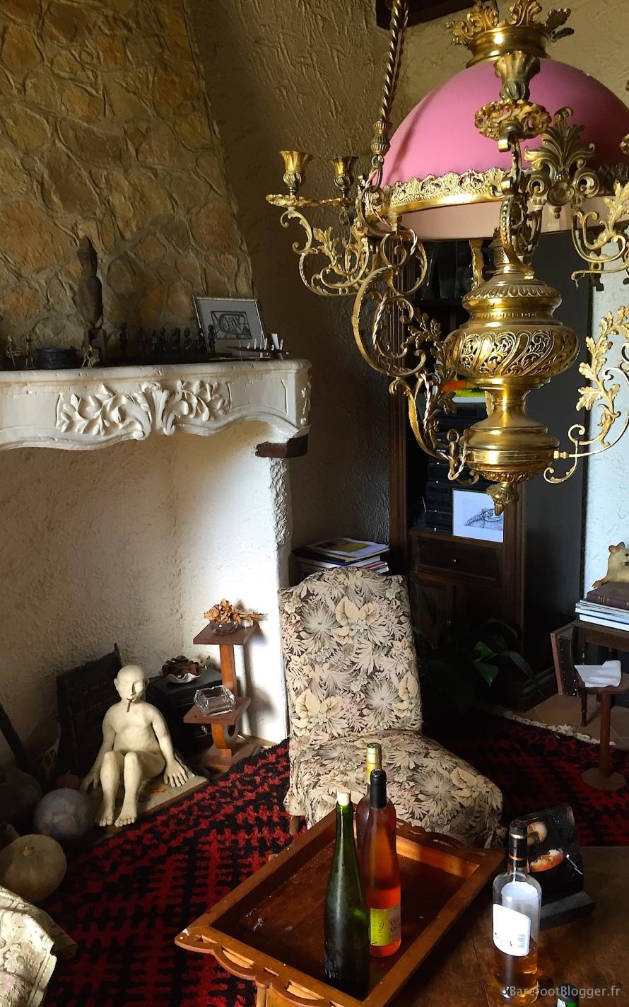 Salon of artist Jean Marie Memin in south of France