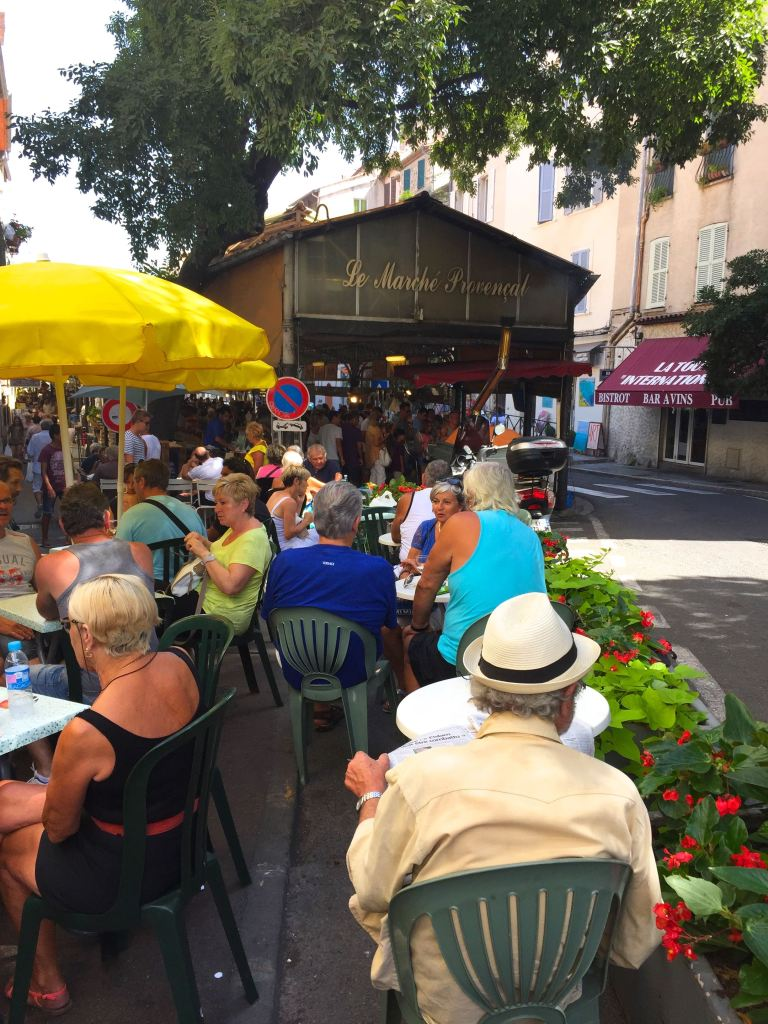 Cafe in Antibes