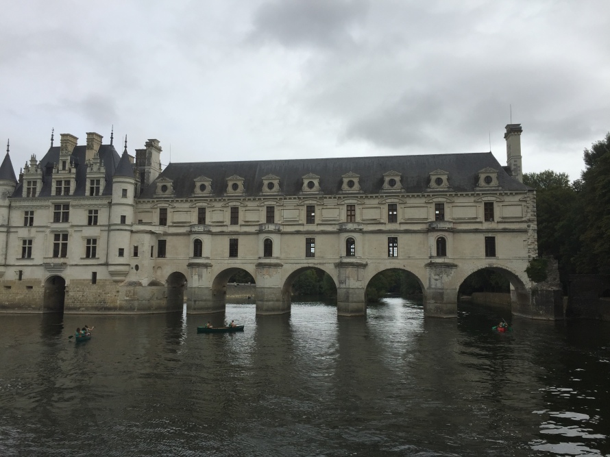 River view of the Chateau at Chenonceau
