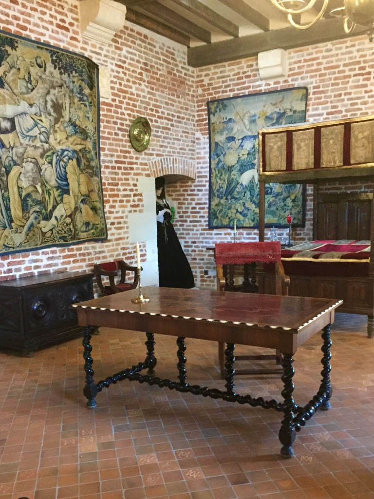 the official residence of Leonardo da Vinci
