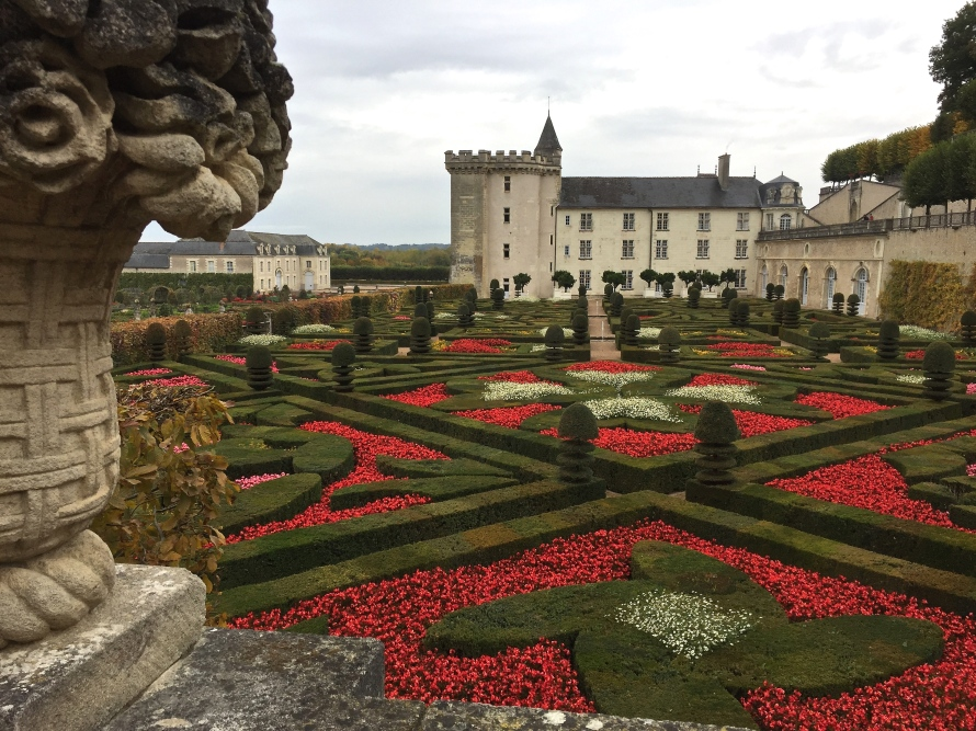 Château Villandry in the Loire Valley
