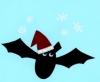 christmas-bat