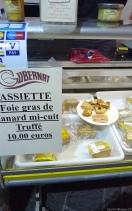 Truffle and foie gras