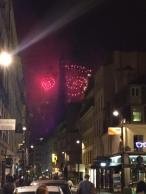 Fireworks from the Eiffel Tower- Kathy B.