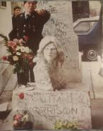 Jim Morrison's Grave, Pere Lachaise Cemetery - Michelle F.